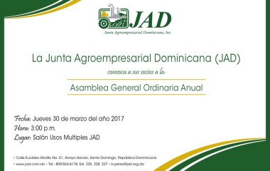 Convocatoria Asamblea General Ordinaria Anual